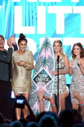 Shay Mitchell, Ashley Benson, Lucy Hale, Troian Bellisario, Janel Parrish and Sasha Pieterse – Teen Choice Awards 2016 in Inglewood, CA