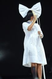 Sia Perfoms at V Festival at Hylands Park in Chelmsford, England 8/21/2016