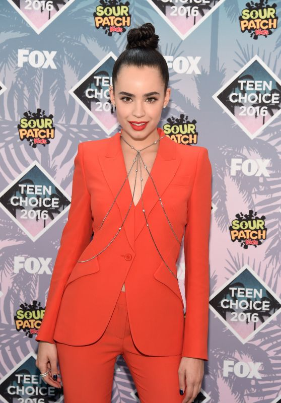 Sofia Carson – Teen Choice Awards 2016 in Inglewood, CA