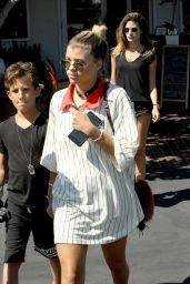 Sofia Richie Street Style - Leaving Mauro