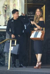 Sofia Vergara Shopping in Beverly Hills, August 2016