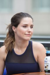 Sophia Bush at a Private Yoga Event Lollapalooza Weekend in Chicago, July 2016