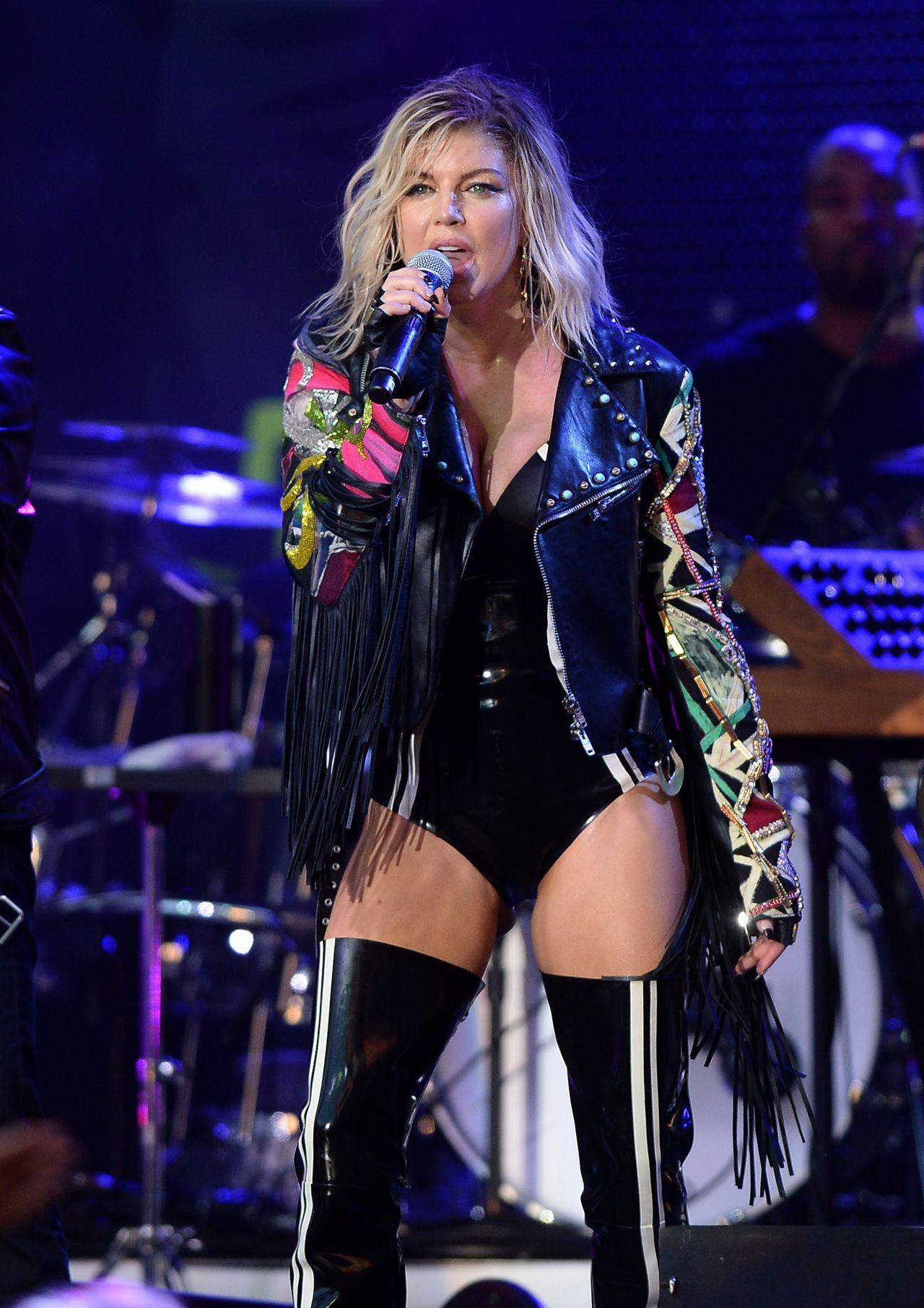 Stacy 'Fergie' Ferguson Performing at Pandora Summer Crush ...