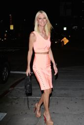 Tara Reid Night Out Style - at The Nice Guy West Hollywood 8/8/2016