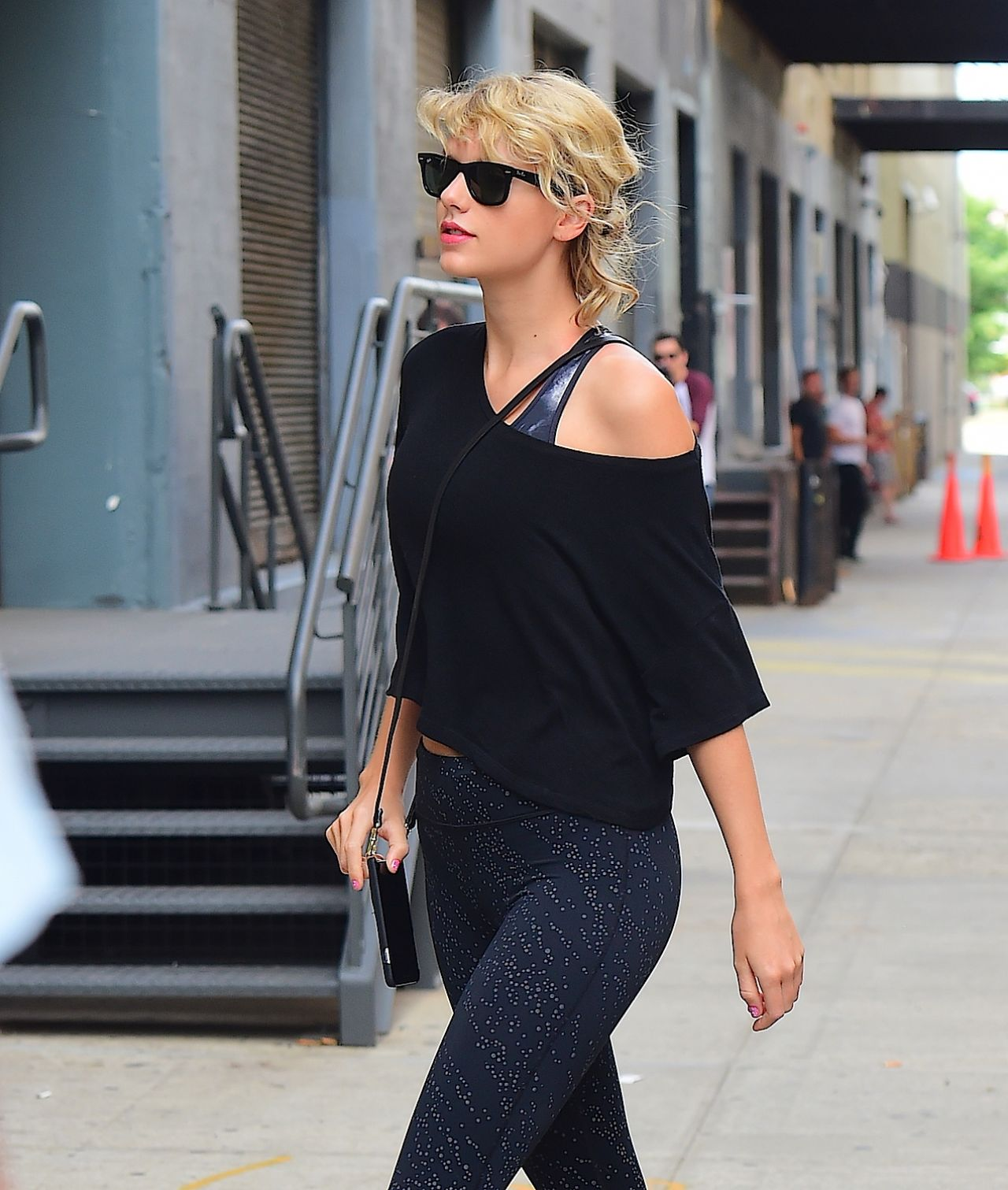 Taylor Swift Gym Style Nyc 8 8 2016