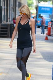 Taylor Swift in Spandex - Outside of Her Gym in New York 8/26/2016
