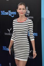 Tricia Helfer – 'Nine Lives' Premiere in Hollywood 8/1/2016