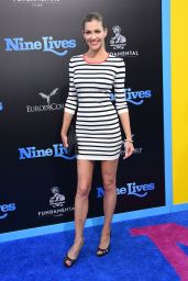 Tricia Helfer – 'Nine Lives' Premiere in Hollywood 8/1/2016