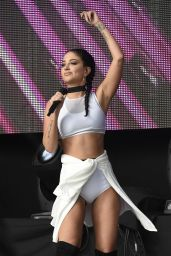 Tulisa Contostavlos - Performing at the Betley Concerts in Cheshire, August 2016