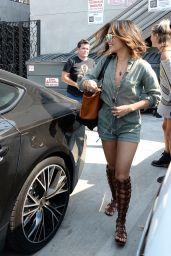 Vanessa Hudgens at A Salon in West Hollywood 8/25/2016