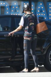 Vanessa Hudgens - Leaving a Pilates Class in LA 8/2/2016