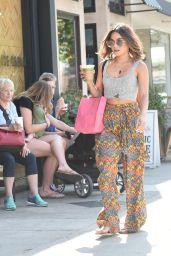 Vanessa Hudgens - Shopping in Los Angeles 8/26/2016