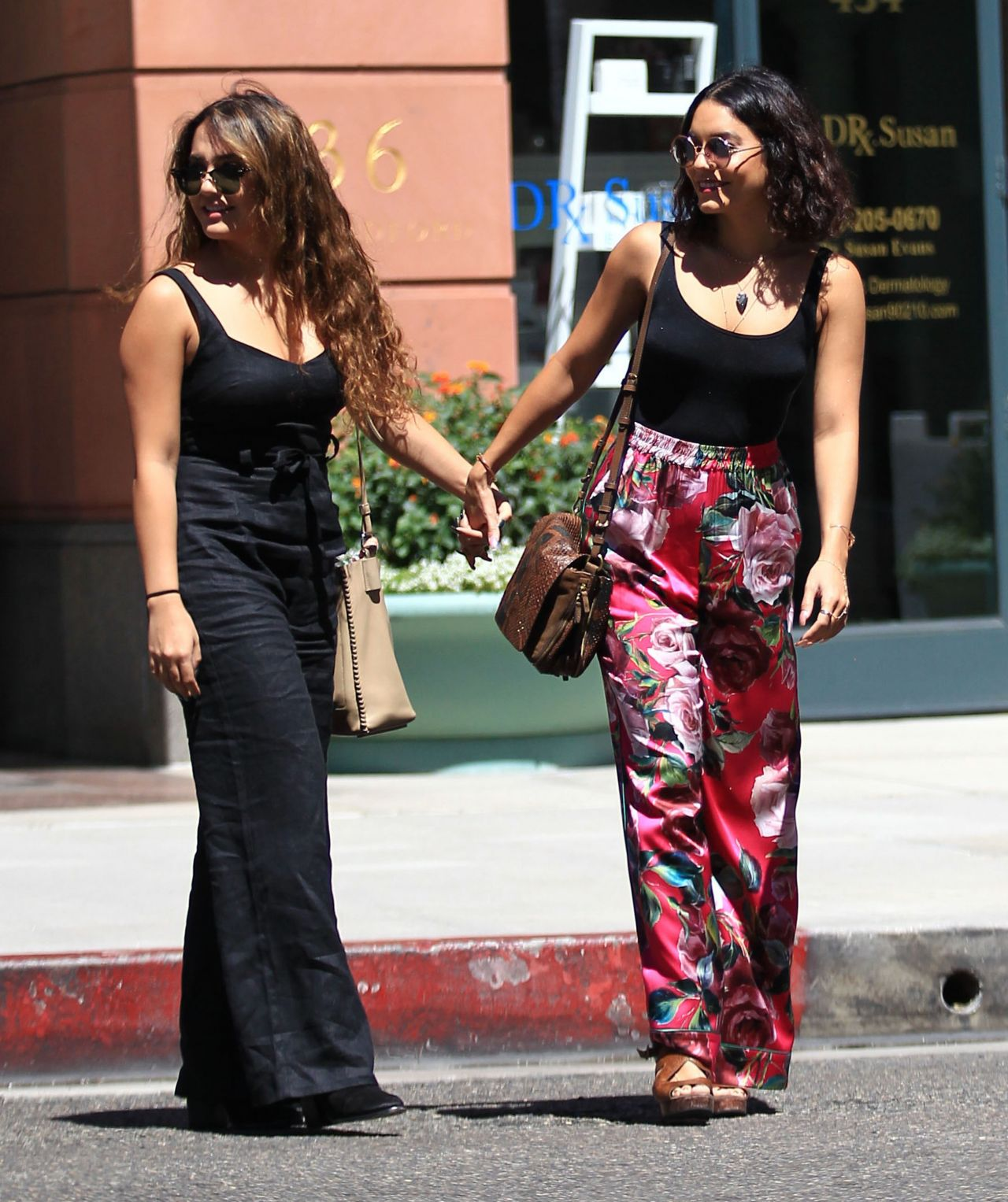 574c5840db8 Vanessa Hudgens Summer Street Style - Out in Beverly Hills 8 15 2016