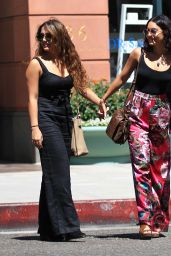 Vanessa Hudgens Summer Street Style - Out in Beverly Hills 8/15/2016