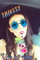 Victoria Justice Social Media Photos, August 2016, Part I