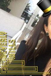 Victoria Justice Social Media Pics, August 2016
