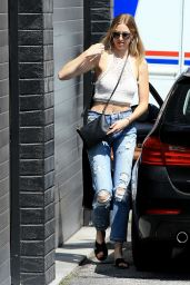 Whitney Port Street Style - Los Angeles 8/26/2016