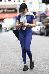 Xenia Tchoumitcheva in Tights - London, August 2016