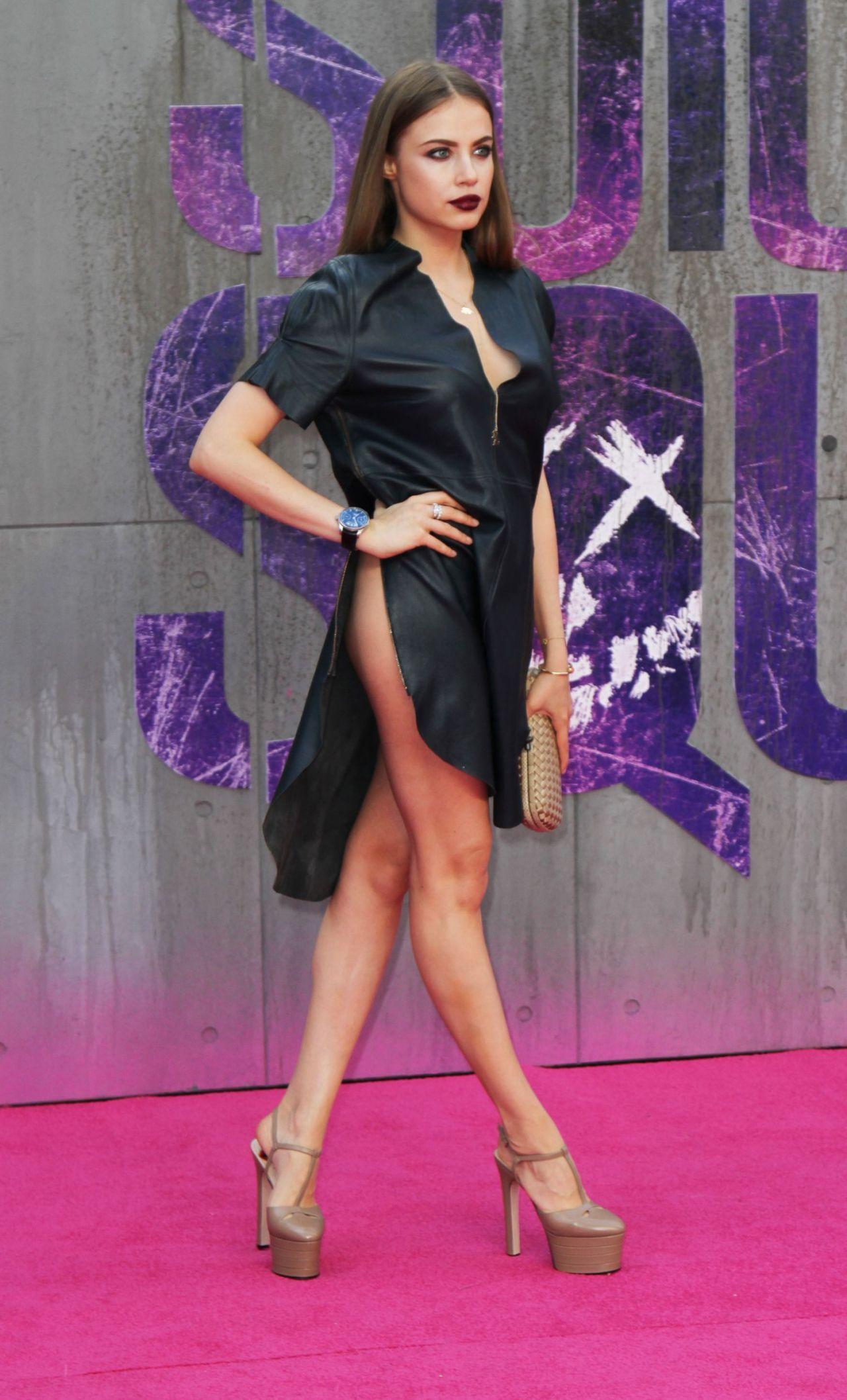 Xenia Tchoumitcheva Suicide Squad Premiere In London
