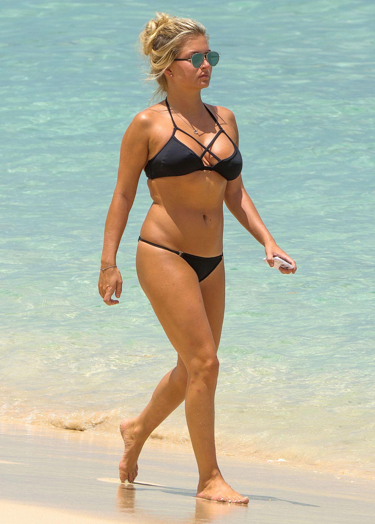 Zara Holland Hot In Bikini - Beach In Barbados 882016-2266