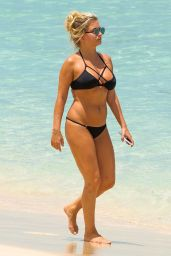 Zara Holland Hot in Bikini - Beach in Barbados 8/8/2016