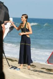 Zendaya Coleman Shooting a Music Video - Beach in Santa Monica 8/1/2016