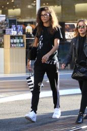 Zendaya - Shopping at the Grove in Los Angeles 8/12/2016