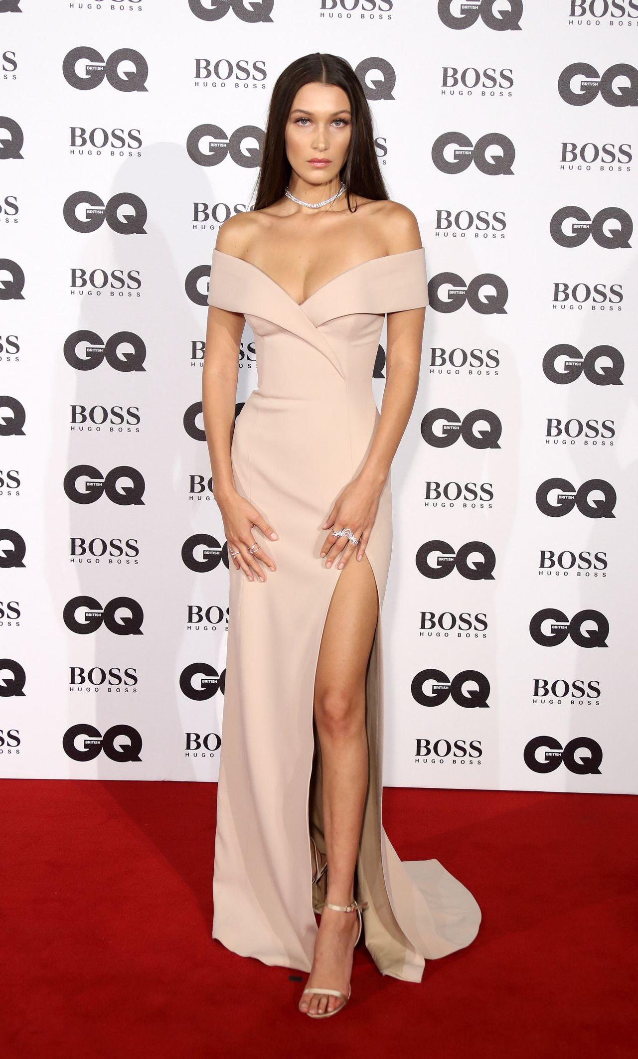 BELLA HADID at GQ Men of the Year Awards 2016 in London 09