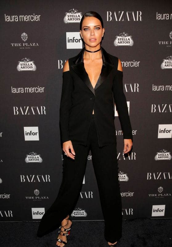 Adriana Lima - Harpers Bazaar Icons Party 09/09/2016