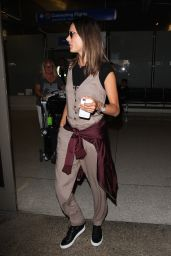 Alessandra Ambrosio - Arriving at LAX Airport in LA 9/23/ 2016