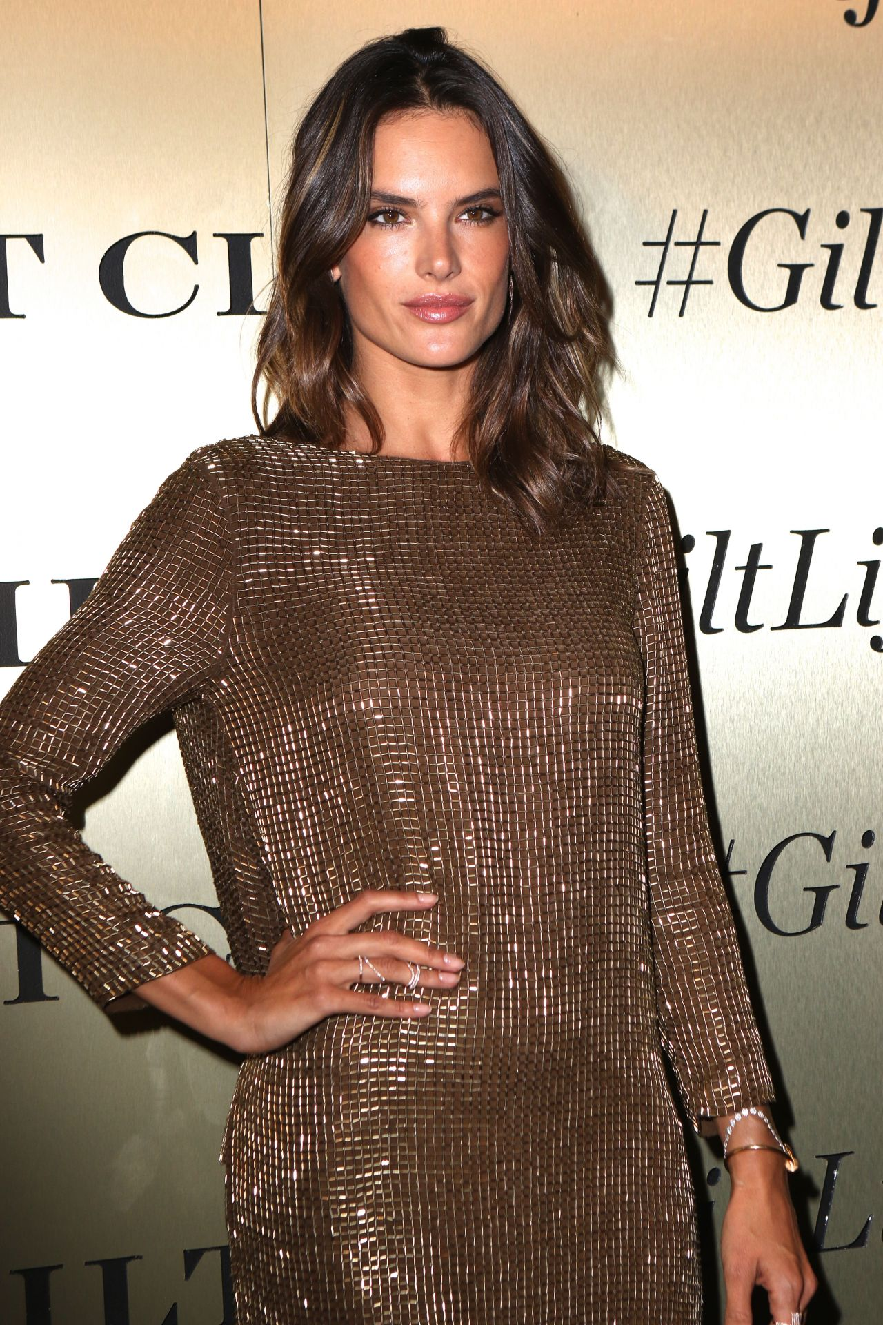 Alessandra Ambrosio - GiltLife Launch Party Event in New ... Alessandra Ambrosio