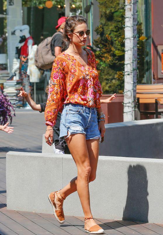 Alessandra Ambrosio - Out in Malibu, Los Angeles 9/3/2016
