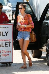 Alessandra Ambrosio - Out in Malibu, Los Angeles 9/3/2016