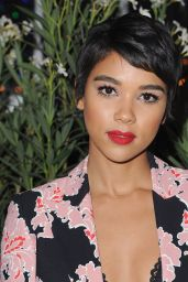 Alexandra Shipp – Teen Vogue Young Hollywood Party in Los Angeles 09/23/2016