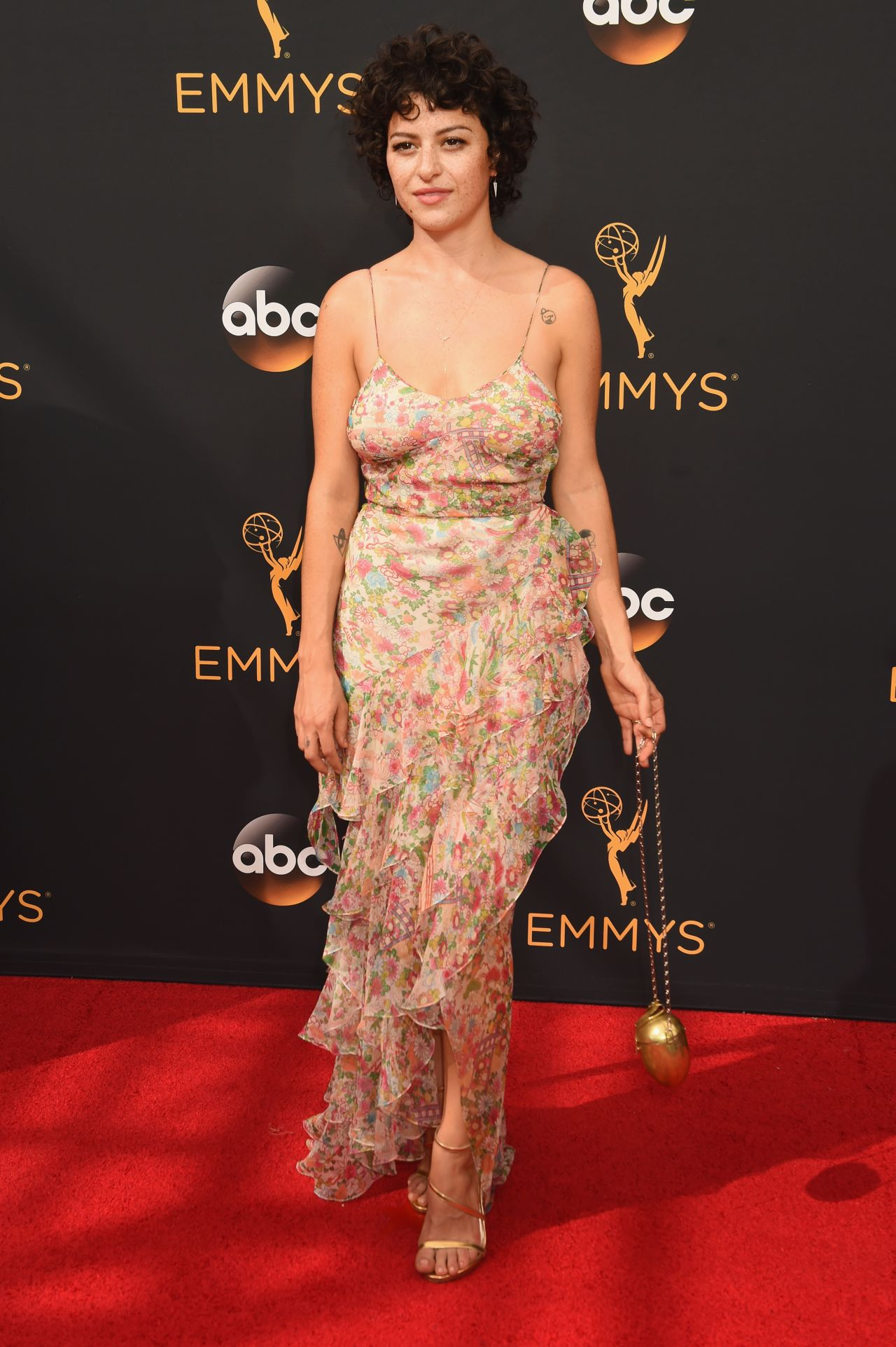 Alia Shawkat Primetime Emmy Awards In Los Angeles 09 18 2016