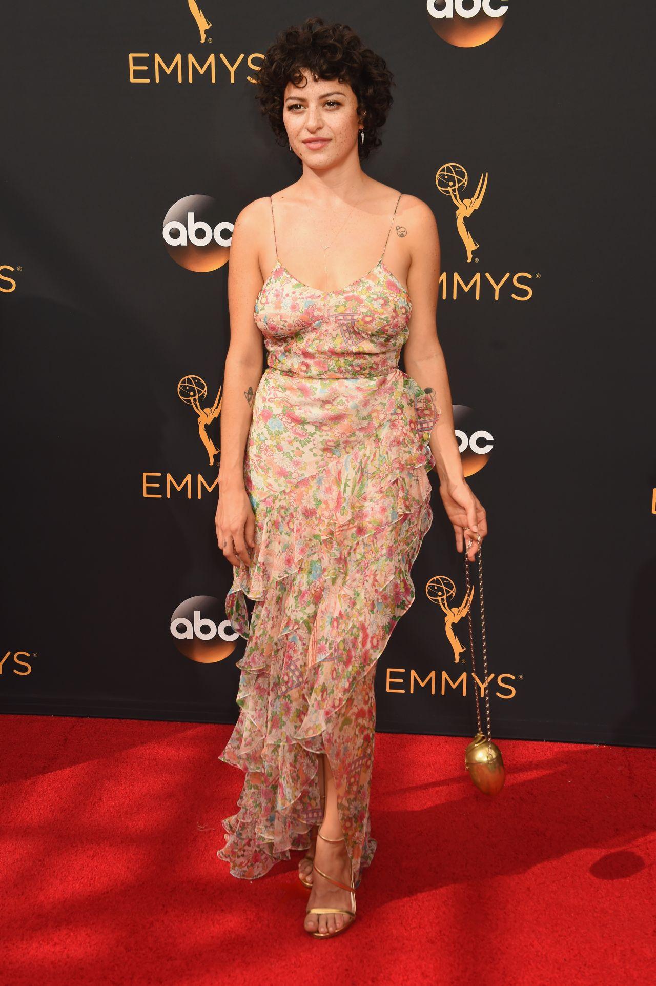 Scavenger Hunt List >> Alia Shawkat - Primetime Emmy Awards in Los Angeles 09/18/2016