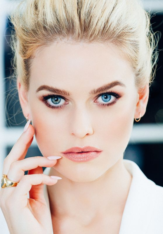 Alice Eve - Photoshoot for Orogold Cosmetics 2016