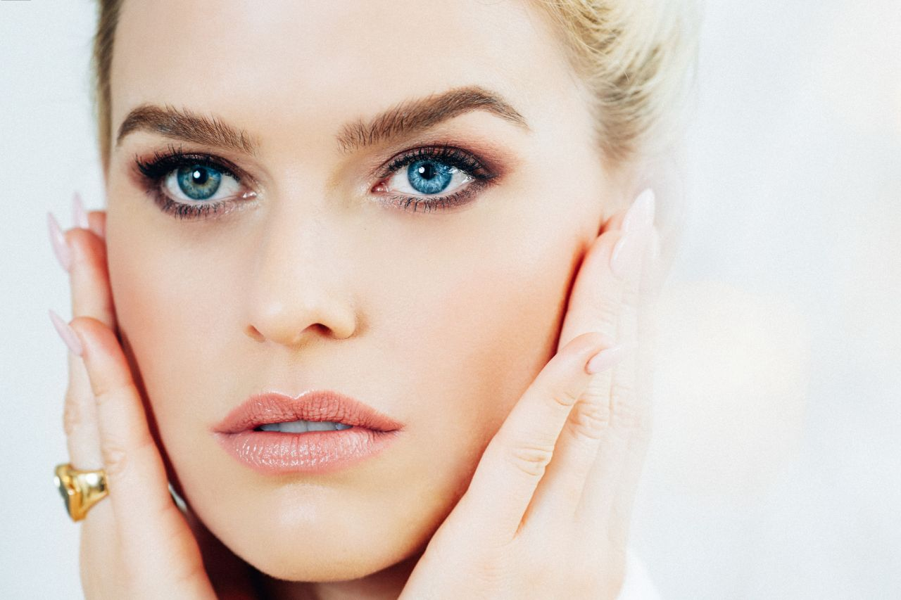 Alice Eve Photoshoot For Orogold Cosmetics 2016