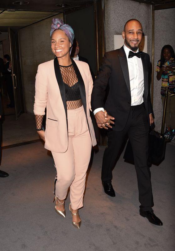 Alicia Keys -Tom Ford Show -  New York Fashion Week 9/7/2016