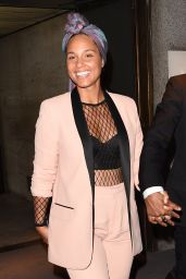 Alicia Keys -Tom Ford Show -  New York Fashion Week 9/7/2016
