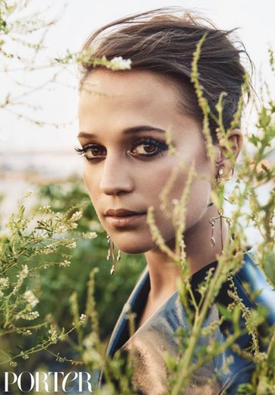 Alicia Vikander - Porter Magazine Winter 2016