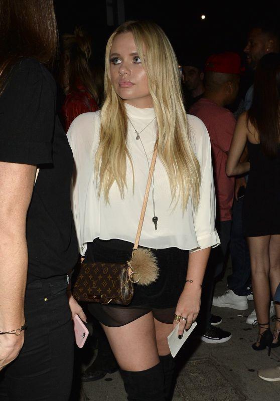 Alli Simpson - Leaves a Club in West Hollywood 9/2/2016