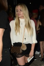 Alli Simpson - Leaves a Club in West Hollywood 9/2/2016