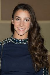 Aly Raisman – Sherri Hill Show – 2017 S/S New York Fashion Week 09/12/2016