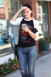 Alyson Michalka Street Style - Beverly Hills 9/6/2016