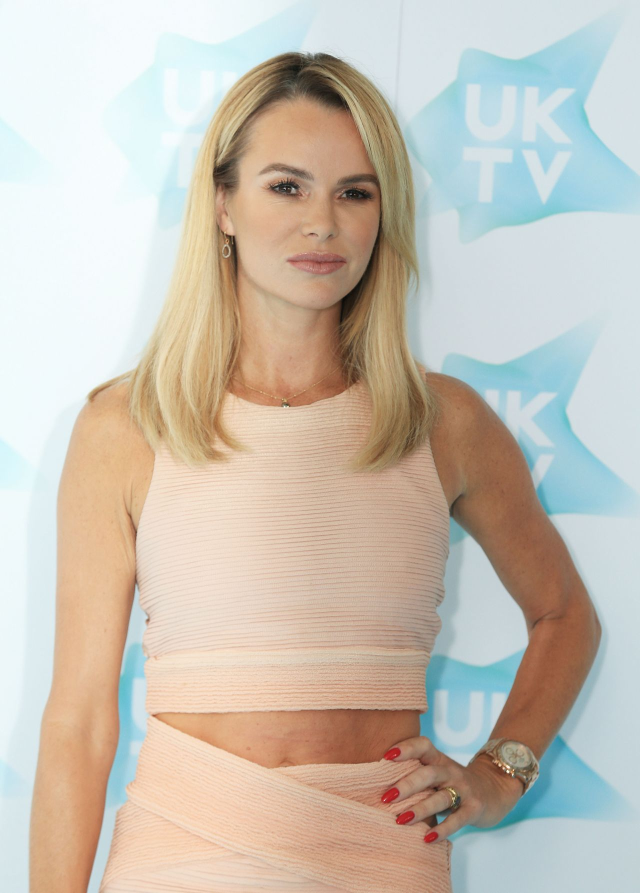 Amanda Holden Uktv Live New Season Launch In London 9