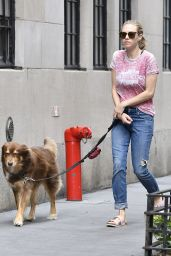 Amanda Seyfried - Out With Finn in NYC 9/6/2016