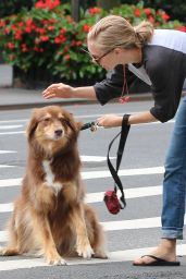 Amanda Seyfried - Walking Her Dog in New York City 9/5/2016