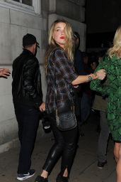 Amber Heard - Love Magazine Party at Lou Lou