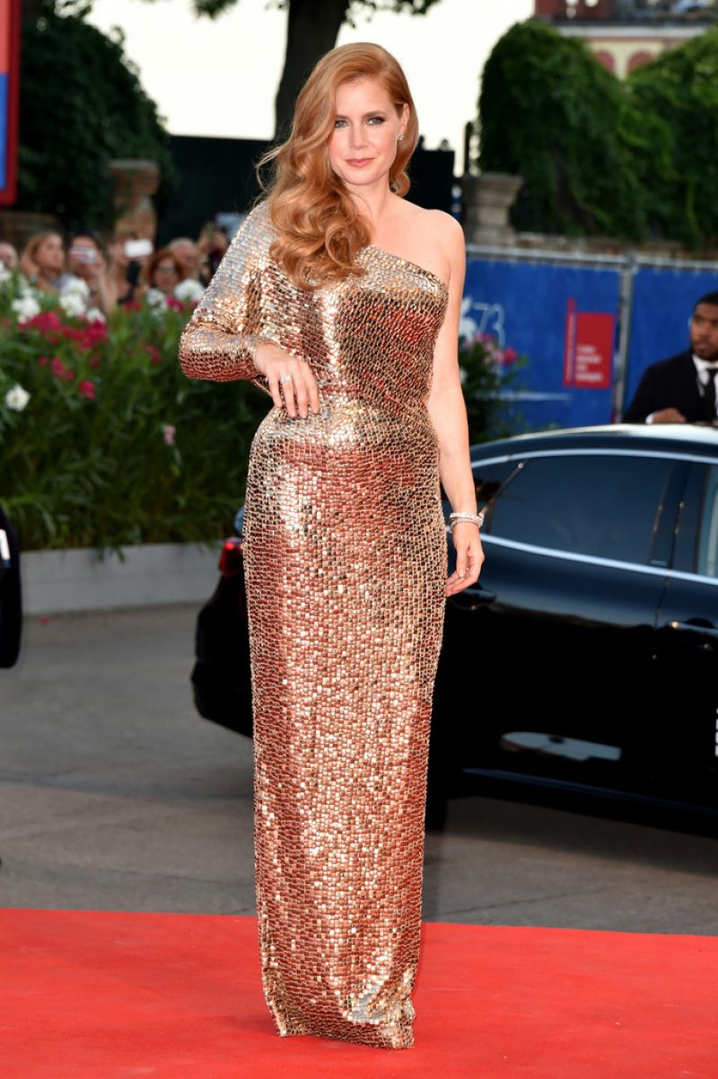 Amy Adams Nocturnal Animals And Arrival To Premiere